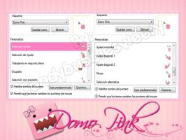 Cursores Domo Pink by candybubblesweety