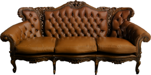 Old Sofa png by ViolettaLeStrange