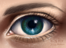 Blue eye digital. by Krinna