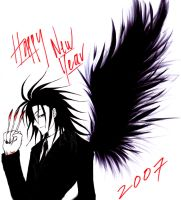 Happy New Year from Akabane :D by Zingiber