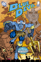 Blue Devil #1, 2011 by indy1725