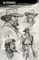 Once Upon A Time In The West by CartoonCaveman