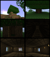Minecraft: Tree House by haojpc