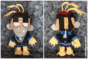 Mr China Plush by Patchwork-Shark