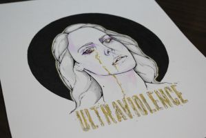 Ultraviolence- Lana Del Rey by Ralcalag