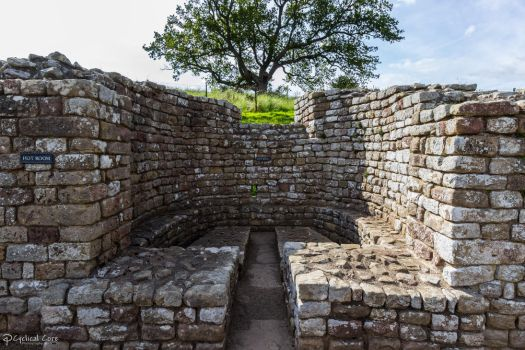 Chesters Roman Fort - Bath House, Hot Bath by CyclicalCore
