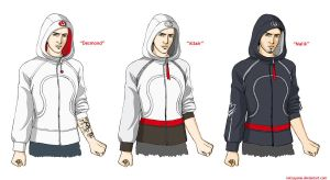 Lululemon does Assassin's Creed by Natsuyume