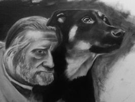 Man and Dog 2 WIP by Briscott