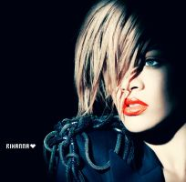 RIHANNA 5 by Ashesteidem-Editions