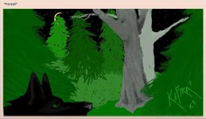 forest.iscribble by Preciousness