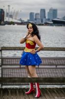 Wonder Woman: Action in London by darkagesun