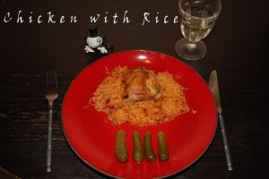 Baked Chicken with Rice by WhatsToEast