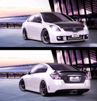 Nissan Altima Decepticon by Glacius-Projects