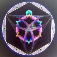 Unfinished mandala-inverted by dlighted