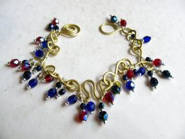 gypsy dance bracelet by tennessea