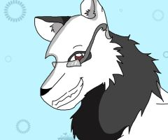 Rocky the Wolf for wolfedoutcats by Squirrelfang2