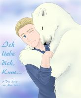 Bear Hug - Knut by ElectrikTrinity