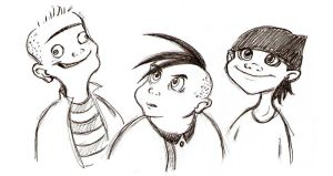 Disney's Ed, Edd and Eddy by VampireMeerkat