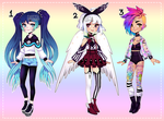 Adopt Auction (5 hours left OPEN) by Kariosa-Adopts