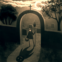 Cemetery by CuteReaper