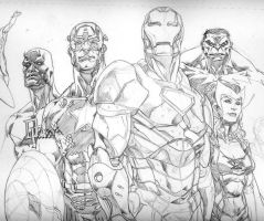 Avengers Commish WIP by RansomGetty