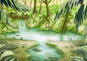 the swamp by MagnaStorm