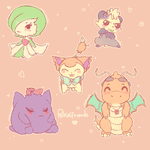pokefrands by mauuchi