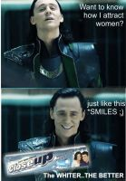 LOKI SMILES by karlonne