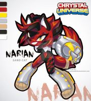 New Character NARIAN  the sand cat by eliana55226838