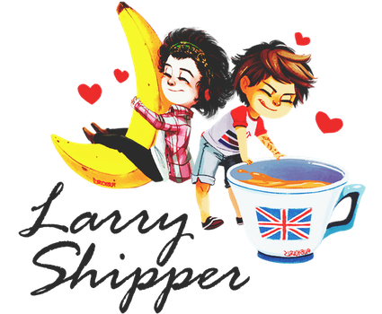 | Larry Shipper | Fatty.- by fattyBear