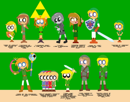 History of Link by ToastersToastToast
