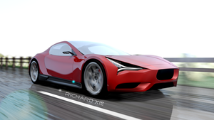 Coupe concept (3d model) by tofuPandaDesign