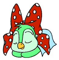 Polka-Dots Sleeping by Wanda92