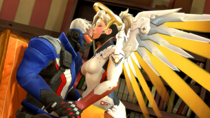 Hero and Angel: Kiss by DarknessRingoGallery