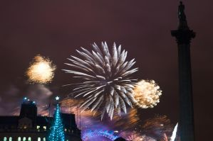 New Years Eve At London 2011 by dynamick