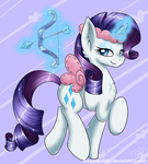 Cupid Rarity by DragonGirl983