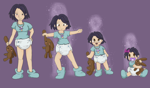 The Regression Of Reina By Toddlergirl by ReinaHW