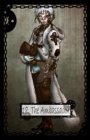 Steampunk Tarot The Ambassador by TheBlindProphetess