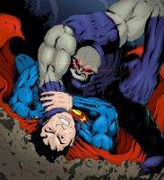 Superman vs. Darkseid Colors by adammiconi
