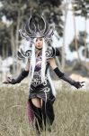 Syndra, the Dark Sovereign by LadyAngelus
