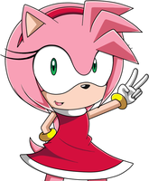 Amy Rose Sonic X by IWishForAFish