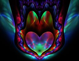 Colorful Heart by eReSaW