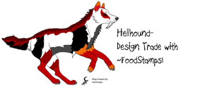 Hellhound Trade for FoodStamps1 by BlackWolf1112-ADOPTS