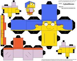 Cubee - Milhouse by CyberDrone