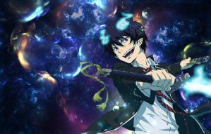 Blue Exorcist: Rin Okumura by GhostDrive246
