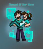 Diamond n' her Hero by MidNight-Vixen
