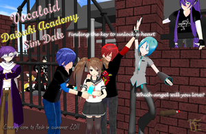 Daisuki Academy - Preview by MintyChipMMD