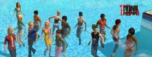 Total Drama Action CAST sims 2 by jjjoeyy