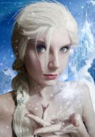 Elsa the frost Queen! by Baku-Project