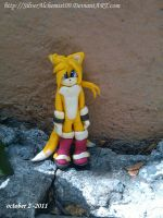 Tails figure by me  V.1 by SilverAlchemist09